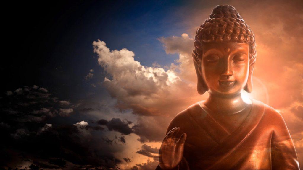 buddha3 1024x576 - A buddhista szerzetesek 5 szokása, amely segít megszabadulni a negatív energiáktól