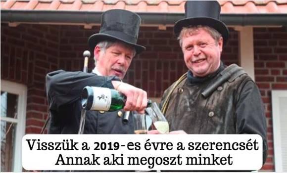 szerencsét - Visszük a 2019-es évre a szerencsét – Annak aki megoszt minket