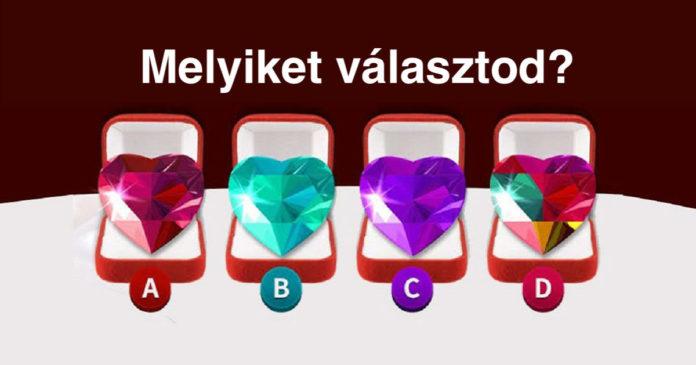 pszi1 - Pszichológiai teszt: válassz egyet a 4 szív közül és ismerd meg jobban önmagad